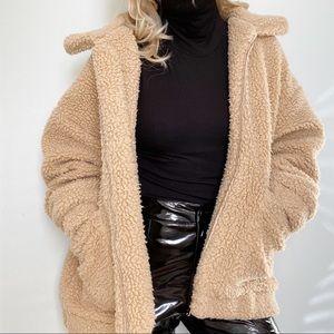 I.AM.GIA pixie Sherpa teddy coat jacket